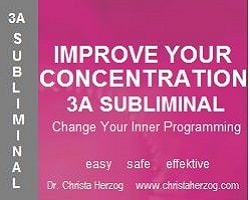 Improve Your Concentration 3A Subliminal Image
