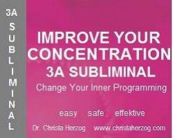 Improve Your Concentration 3A Subliminal Image