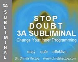 Stop Doubt 3A Subliminal Image