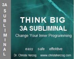 Think Big 3A Subliminal Image