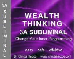 Wealth Thinking 3A Subliminal Image